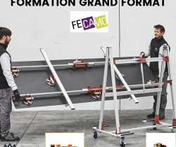 Formation grand format